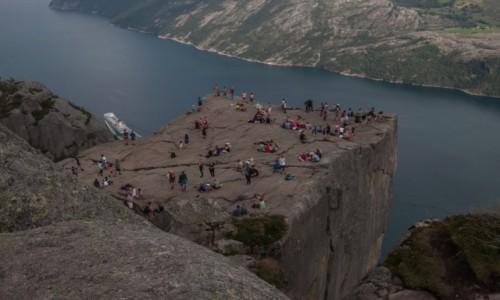 Zdjecie NORWEGIA / płn. Norwegia / płn. Norwegia / Ambona po raz ostatni...