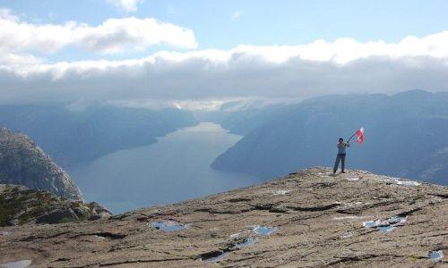 Zdjecie NORWEGIA / Stavanger, Tau / Preikestolen / Preikestolen (Pulpit Rock)