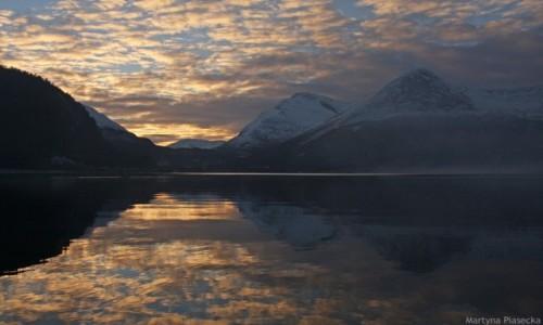 Zdjecie NORWEGIA / Nordland / Mørsvikbotn / Słoneczne impresje