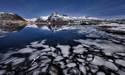 NORWEGIA / Lofoty / okolice Nusfjordu / Lodowy Fiord