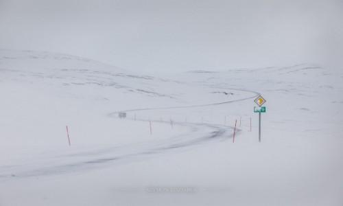 Zdjecie NORWEGIA / Finnmark / Nordkapp / Znajdź drogę