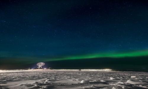 Zdjęcie NORWEGIA / Finnmark / Nordkapp / Dym z komina