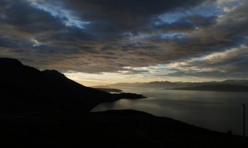 Zdjecie NORWEGIA / Lofoty / gdzieś na trasie / fiordy