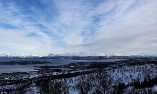 Zdjęcie NORWEGIA / Troms / Hinnojastein / Spacer po widoki