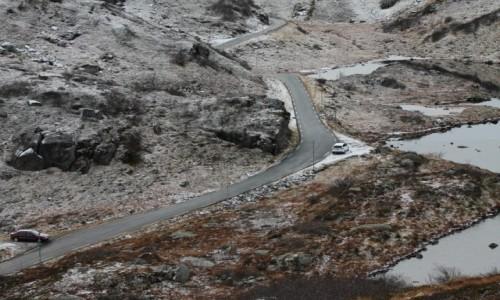 Zdjęcie NORWEGIA / Bergen / Bjordal / Droga w górach