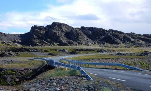 Zdjęcie NORWEGIA / Półwysep Varanger / W drodze do Hamningberg / Północ Norwegii