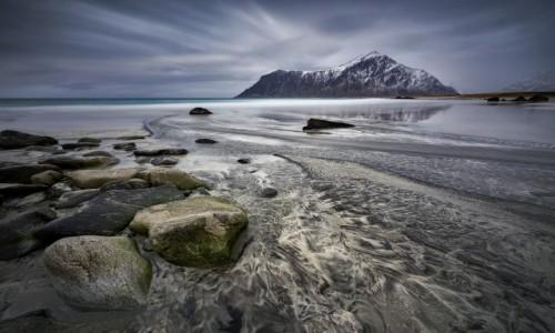 Zdjecie NORWEGIA / Lofoty / Skagsanden / Skagsanden