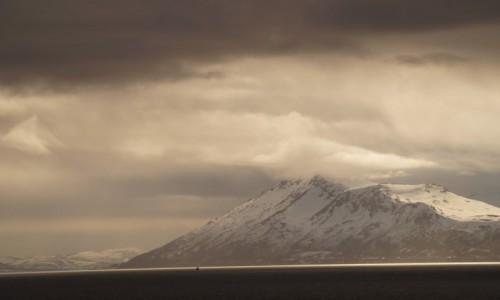 Zdjecie NORWEGIA / Troms / Lyngen Alpene / Statek