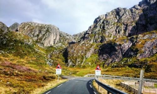 Zdjecie NORWEGIA / Ryfylke / Kjerag / Treking po Norwegii