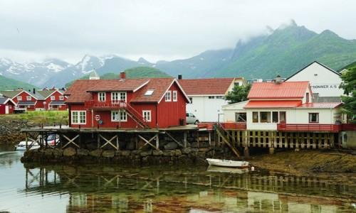 Zdjecie NORWEGIA / Lofoty / Svolvær / Svinøya Rorbue