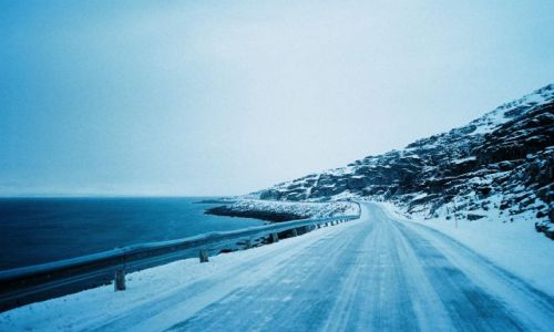 Zdjęcie NORWEGIA / Morza Barentsa / niedaleko nordkappu / Droga na Nordkapp