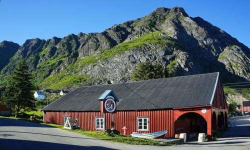 Zdjęcie NORWEGIA / Lofoty / Å / Muzeum rybołówstwa