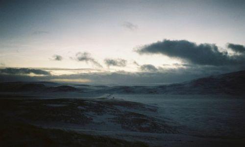Zdjęcie NORWEGIA / Morza barentsa / VARANGER HALVOYA. / ARKTYCZNE PUSTKOWIE