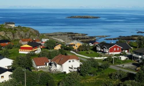 Zdjęcie NORWEGIA / Lofoty /  Wyspa Moskenesoy / Å