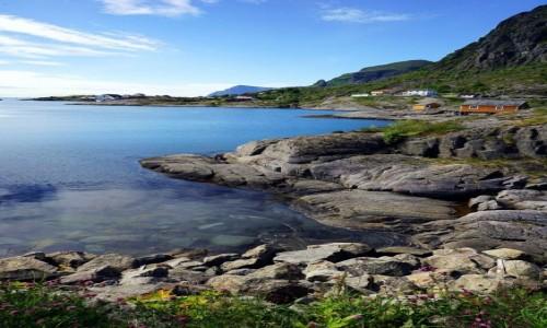 Zdjecie NORWEGIA / Lofoty / Wyspa Moskenesøya / Å