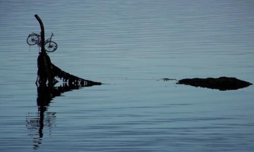 Zdjęcie NORWEGIA / Lofoty / Okolice Sørvågen / Na szczęście to nie mój rower