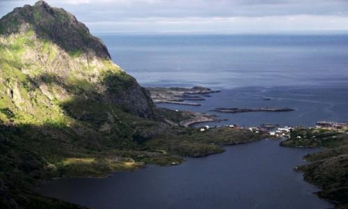 Zdjęcie NORWEGIA / Lofoty / okolice Å / Jezioro Ågvatnet
