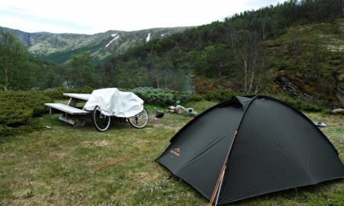 Zdjęcie NORWEGIA / Rondane / Rondane / Idealne miejsce na obóz