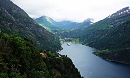 NORWEGIA / Geiranger / Geiranger / Geirangerfjord