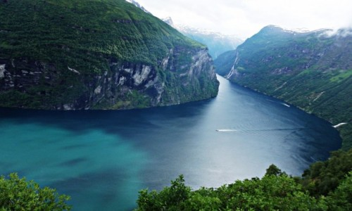 Zdjecie NORWEGIA / Geiranger / Geiranger / Geirangerfjord 2