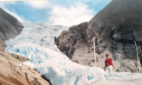 Zdjecie NORWEGIA / - / Norwegia / Jostedalsbreen – największy lodowiec w kontynentalnej Europie.