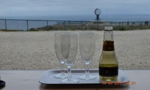 Zdjecie NORWEGIA / Nord / Nordkap / Champagne