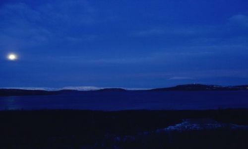 Zdjęcie NORWEGIA / FINNMARK / Laksefjord / NOC POLARNA