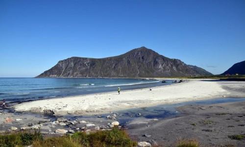 Zdjęcie NORWEGIA / Lofoty / Skagsanden Beach / Skagsanden Beach