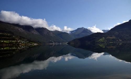 Zdjecie NORWEGIA / Stryn / Stryn / Norweskie fiordy