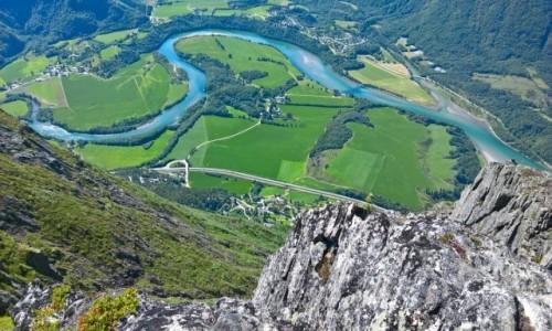 Zdjecie NORWEGIA / Rauma / Romsdalen / Romsdalen