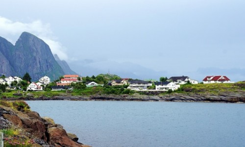 Zdjecie NORWEGIA / Lofoty / Moskenesøya / Reine