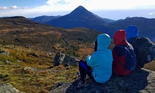 Zdjecie NORWEGIA / Rjukan / Gaustatoppen / Widok na Gaustatoppen
