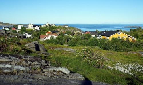 Zdjęcie NORWEGIA / Lofoty / Wyspa Moskenesoya / Å