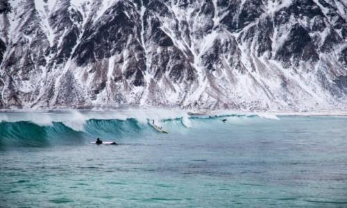 Zdjęcie NORWEGIA / Lofoty zachodnie / Lofoty zachodnie / sporty zimowe