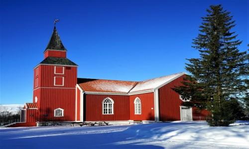 Zdjecie NORWEGIA / Troms / Tromsø / Elverhøy kirke