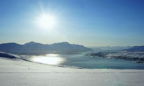 NORWEGIA / Troms / Tromsø / Słonecznie