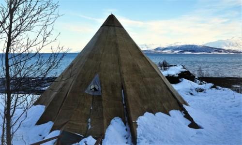NORWEGIA / Troms / Oldervik / Miejscówka nr 2
