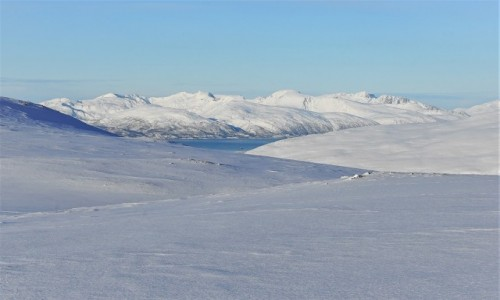 NORWEGIA / Troms / Tromsdalen / Barwy Arktyki
