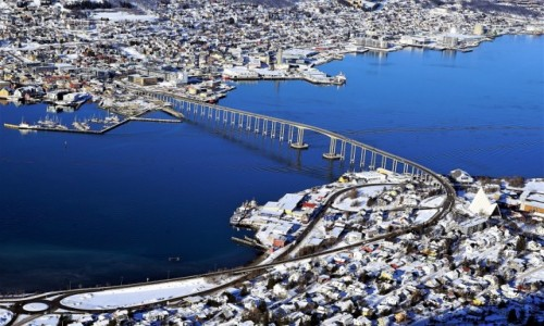 NORWEGIA / Troms / Tromsø / W nieco innym świetle