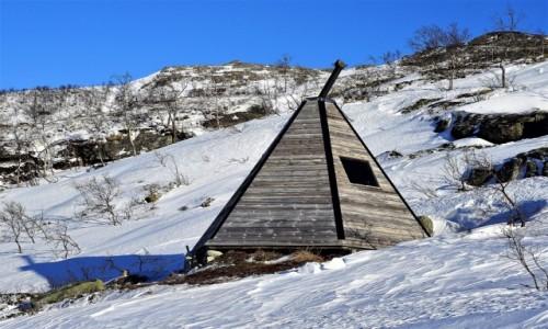 NORWEGIA / Troms / Ersfjordbotn / Miejscówka z wypasem