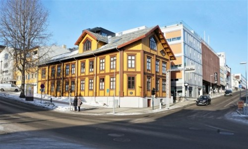 NORWEGIA / Troms / Tromsø / Stare i nowe