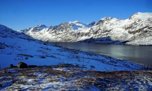 Zdjecie NORWEGIA / Troms / Ersfjordbotn / Płaszczyzny