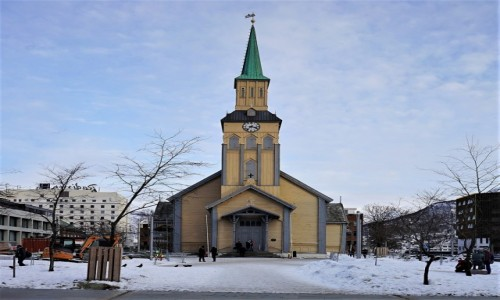 NORWEGIA / Troms / Tromsø / Katedra luterańska