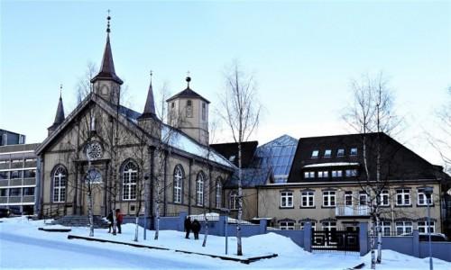 Zdjecie NORWEGIA / Troms / Tromsø / Prokatedra pw. Naszej Pani
