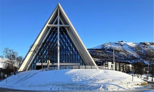 Zdjecie NORWEGIA / Troms / Tromsdalen  / Katedra Arktyczna