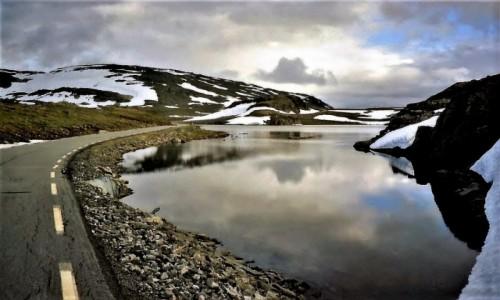 Zdjecie NORWEGIA / Sognefjorden / Aurlandsvegen / Śnieżna Droga