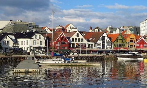 NORWEGIA / Norwegia południowo zachodnia / Stavanger / stare miasto