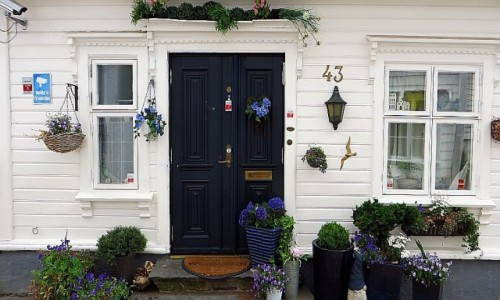NORWEGIA / Norwegia południowo zachodnia / Stavanger / architektura Stavanger