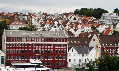 Zdjecie NORWEGIA / Norwegia południowo - zachodnia / Stavanger / panorama miasta