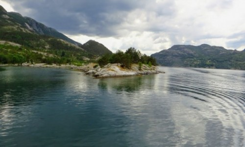 Zdjęcie NORWEGIA / Norwegia południowo - zachodnia / okolice Stavanger / Hogsfjord